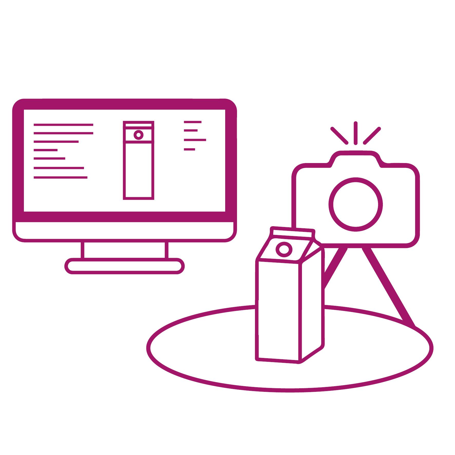 Data Management Service en productfotografie